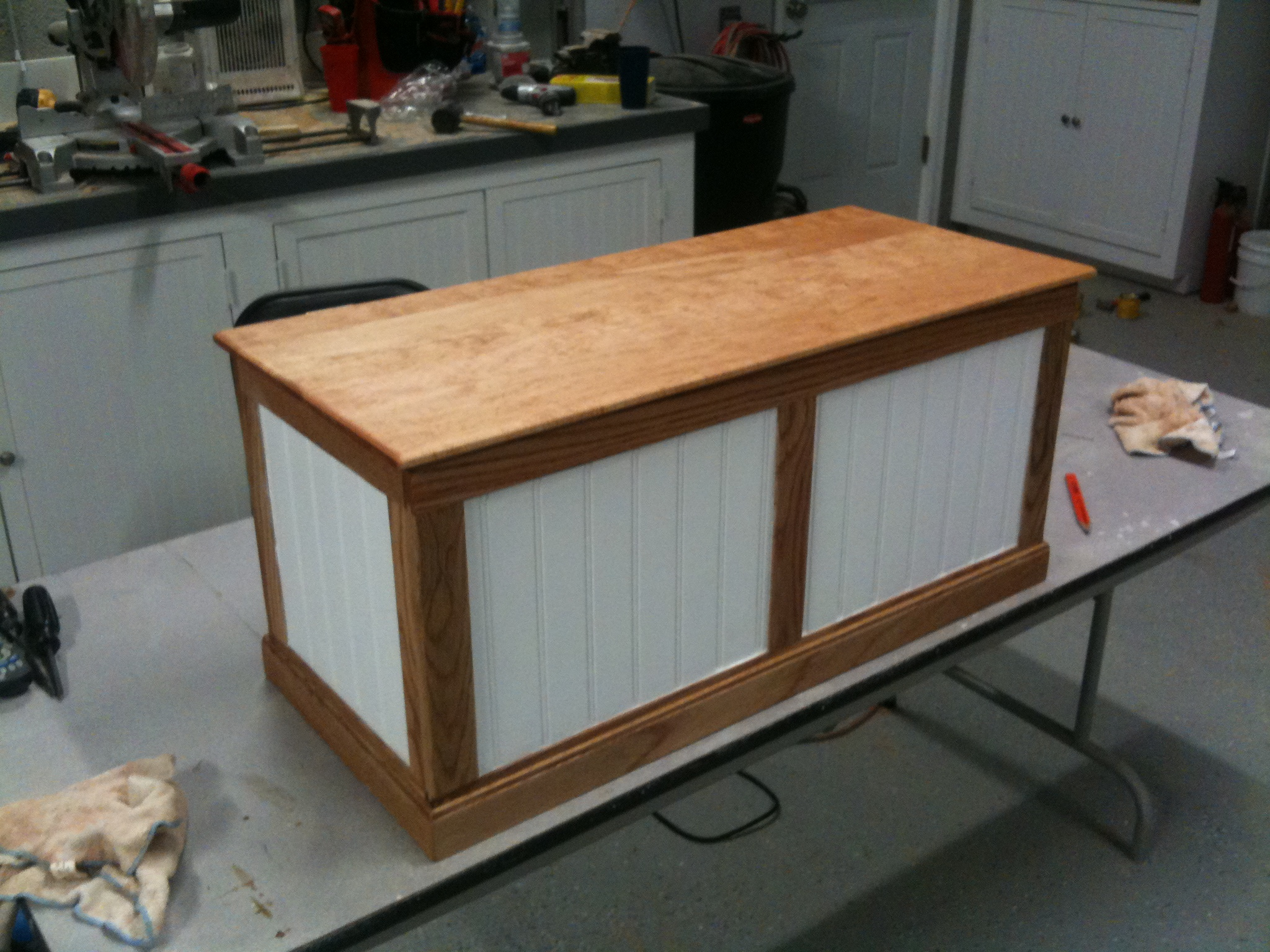 Nathanielu0027s Toy Box: First Project In The New Shop | Pennington Millworks Part 66