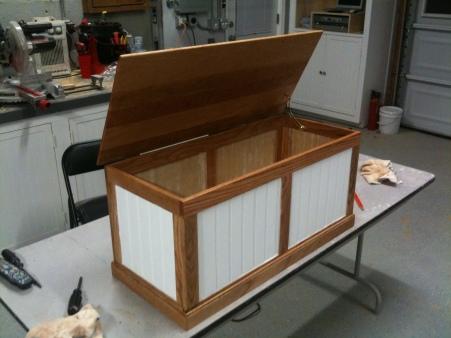 Build Toy Box Plans One Sheet Plywood Diy Pdf Types Of