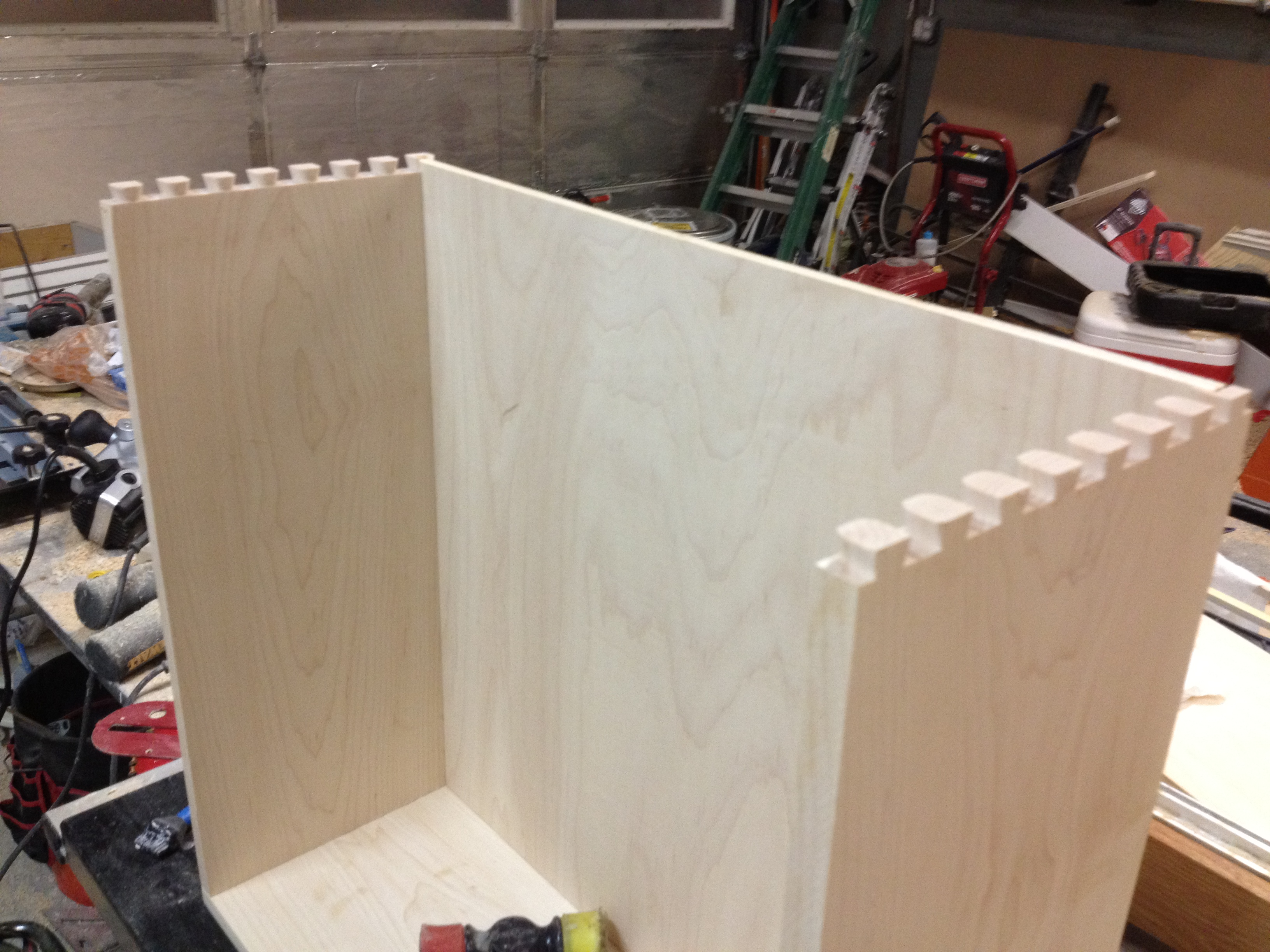 Building Plywood Drawers ~ Building dovetail drawers in steps pennington millworks