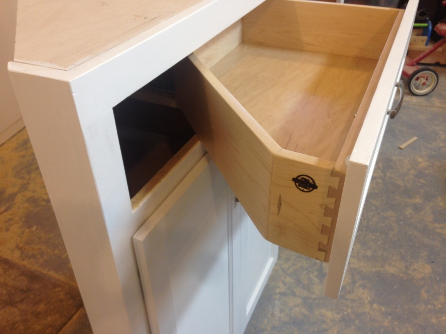 Triangle Drawer Assembly